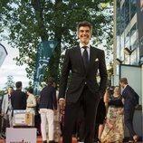 Jorge Fernández, presentador de 'La ruleta de la suerte', en la alfombra naranja del FesTVal 2018