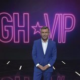 Jorge Javier Vázquez posa como nuevo presentador de 'GH VIP'