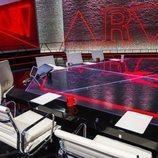 Mesa del nuevo plató de 'Al rojo vivo' en laSexta