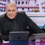 Antonio García Ferreras en el nuevo plató de 'Al rojo vivo'