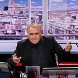 Antonio García Ferreras posa en el plató de 'Al rojo vivo'