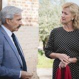 Antonio y Merche de 'Cuéntame cómo pasó', serios en la temporada 19