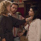 Merche, Tony e Inés, muy tristes en 'Cuéntame cómo pasó'
