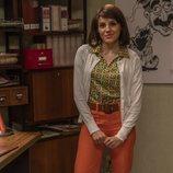 Nieves, la secretaria de la revista satírica de 'Amar es para siempre'