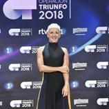 Ana Torroja, jurado de 'OT 2018', posa en la rueda de prensa