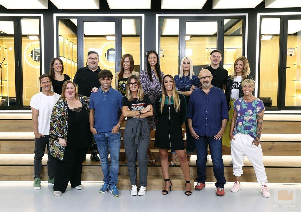 Todos los profesores de 'OT 2018' juntos en la Academia