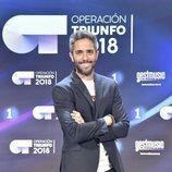 Roberto Leal, presentador de 'OT 2018', posa en la rueda de prensa