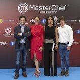 Jurado y presentadora de 'MasterChef Celebrity 3'