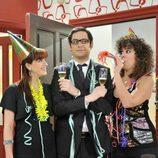 'Sin uvas no hay paraíso' en la Nochevieja de Telecinco (2008)