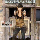 Ana Rosa Quintana es una cowboy en el calendario de 'El programa de Ana Rosa'