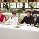 El jurado de 'MasterChef Celebrity 3' sentado junto a Loles León
