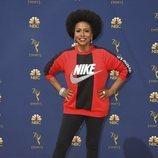 Jennifer Lewis en la alfombra roja de los Emmy 2018