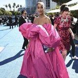 Tracee Ellis Ross en la alfombra roja de los Emmy 2018