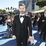 Jimmy Kimmel en la alfombra roja de los Emmy 2018