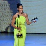 Regina King ganadora de una estatuilla en los Emmy 2018