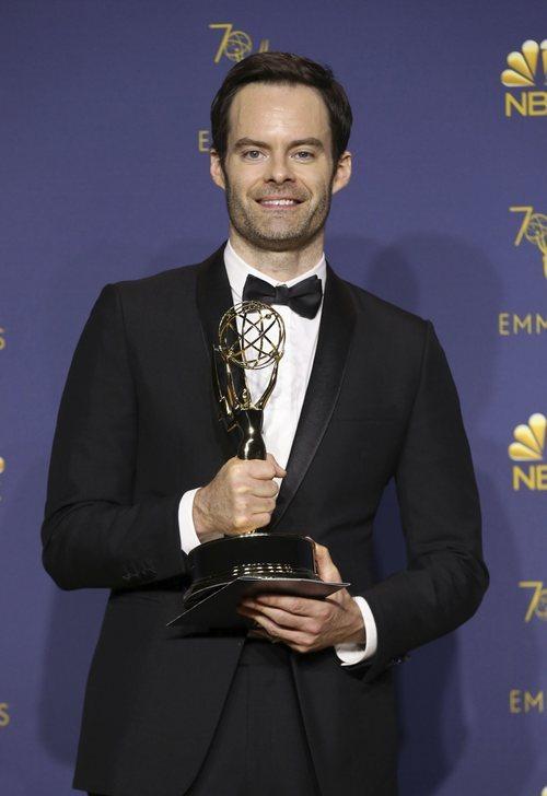 Bill Hader, ganador del Emmy 2018 como mejor actor protagonista en comedia