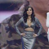 Miriam Saavedra en el plató de 'GH VIP: El debate'