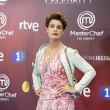 Antonia Dell'Atte, en la presentación de 'MasterChef Celebrity 3'