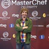 Iván Massagué, en la presentación de 'MasterChef Celebrity 3'