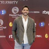 Jaime Nava, en la presentación de 'MasterChef Celebrity 3'