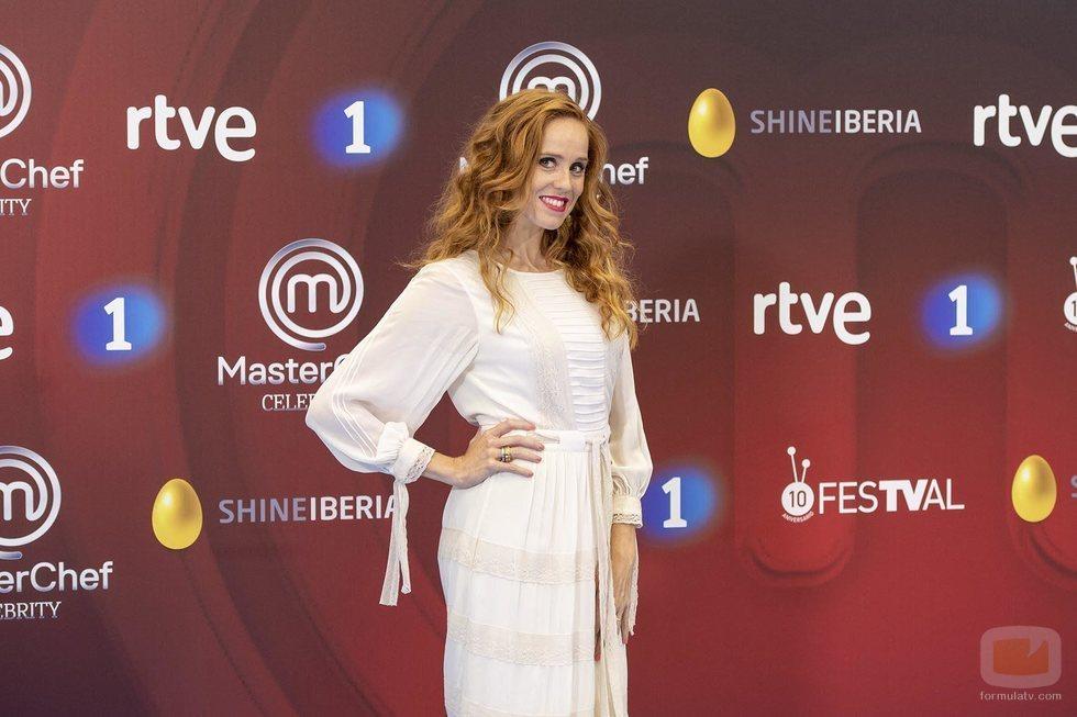 María Castro, en la presentación de 'MasterChef Celebrity 3'