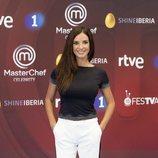 Paula Prendes en la presentación de 'MasterChef Celebrity 3'