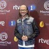 Santiago Segura, en la presentación de 'MasterChef Celebrity 3'