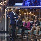 Jorge Javier Vázquez comentando la gala de 'GH VIP 6' con Dulce