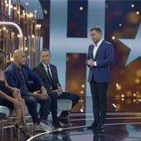 Jorge Javier Vázquez comentando la gala de 'GH VIP 6' con Kiko Matamoros