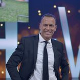 Carlos Lozano posando en el plató de 'GH VIP 6'