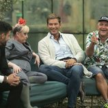 Asraf Beno, Aramís Fuster, Darek y El Koala  en 'GH VIP 6'