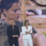 Sandra Barneda y Carlos Lozano en 'GH VIP: El debate'