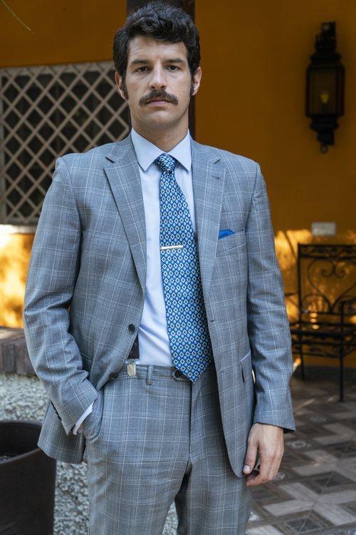 Francisco Ortíz interpreta a Carlos De La Vega en 'Amar es para siempre'