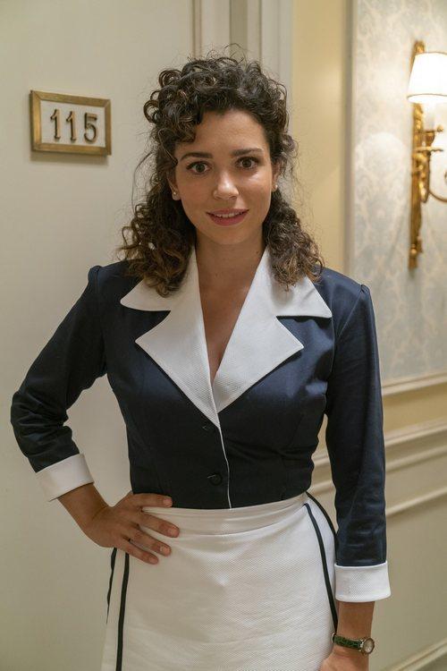 Carol Rovira interpreta a Amelia Ledesma en 'Amar es para siempre'