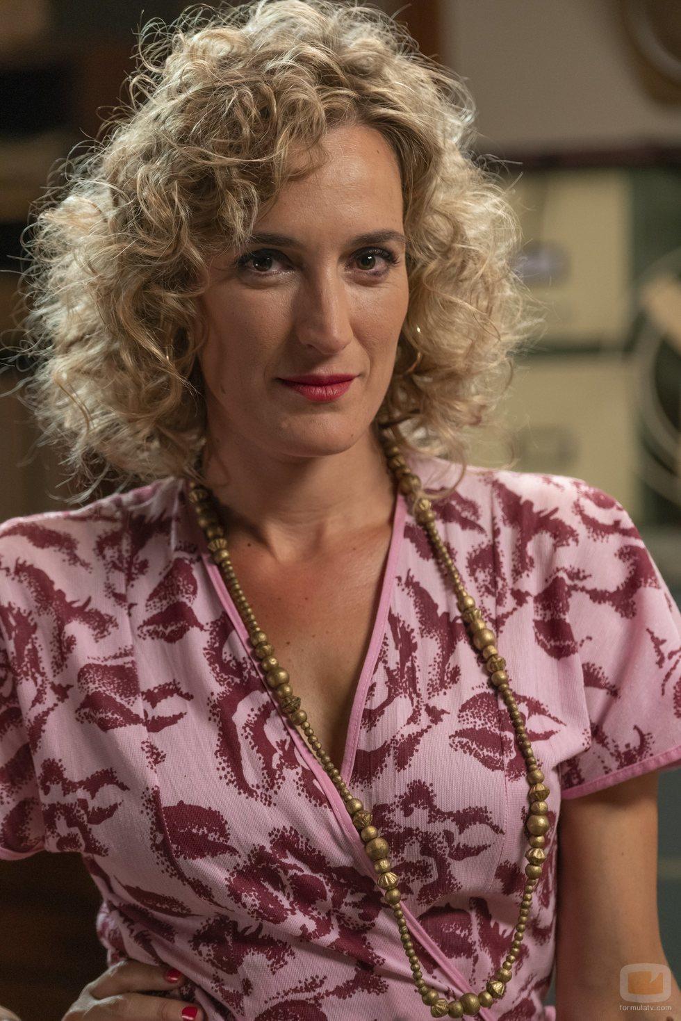 Cristina Alcázar es Silvia Aparicio en 'Amar es para siempre'