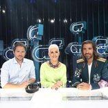 Manuel Martos, Ana Torroja y Joe Pérez-Orive en la Gala 0 de 'OT 2018'