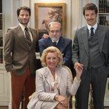 La familia De La Vega posan juntos en 'Amar es para siempre'