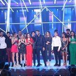 Los concursantes 'OT 2017' en la Gala 0 de 'OT 2018'