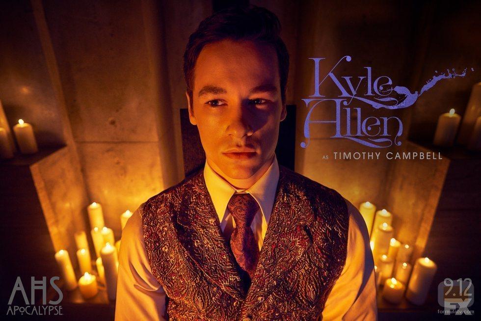 Kyle Allen es Timothy Campbell en 'American Horror Story: Apocalypse'