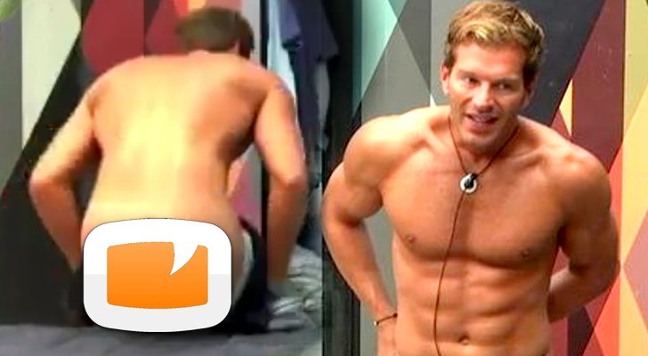 Gh Vip 6 Darek Pillado Desnudo Mientras Se Quita Los Calzoncillos