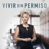 Póster oficial de Pilar Castro en 'Vivir sin permiso'