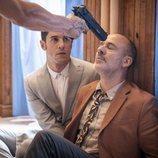Alejo Sauras y Javier Gutiérrez en la segunda temporada de 'Estoy vivo'