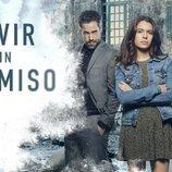 Unax Ugalde, Álex González y Claudia Traisac en 'Vivir sin permiso'