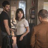 Alfonso Bassave, Anna Castillo y Javier Gutiérrez en 'Estoy vivo'