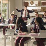 Todos los alumnos de clase en la primera temporada de 'Élite'