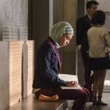 Mina El Hammani es Nadia en la primera temporada de 'Élite'