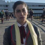 Nadia, interpretada por Mina El Hammani, en la primera temporada de 'Élite'