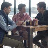 Polo, Guzmán y Ander en la primera temporada de 'Élite'