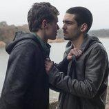 Ander y Omar en la primera temporada de 'Élite'