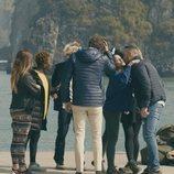 Primer encuentro de algunos de los participantes de la segunda temporada de 'El puente'
